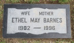 Ethel May Barnes