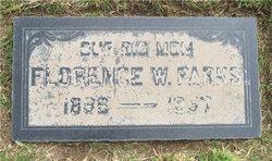 Florence <i>Davis Whitsell</i> Parks