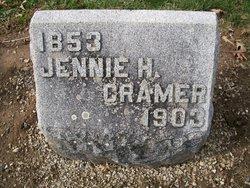 Mary Jane Jennie <i>Hackedorn</i> Cramer
