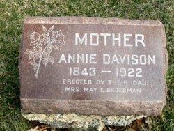 Ann <i>Garlick</i> Davison