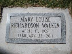 Mary Louise <i>Richardson</i> Walker