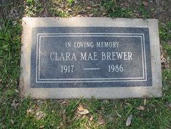 Clara Mae <i>Rail</i> Brewer