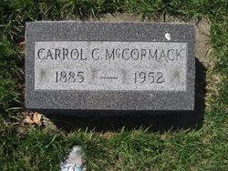 Carrol Carson McCormack