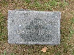 Alice P Crocker