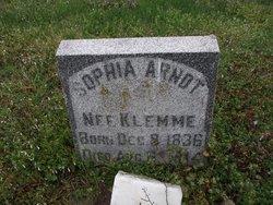 Sophia <i>Klemme</i> Arndt