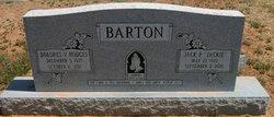 Dolores <i>Hodges</i> Barton