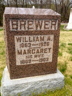 Lydia Margaret <i>Lipe</i> Brewer