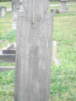 Thomas B. Coleman