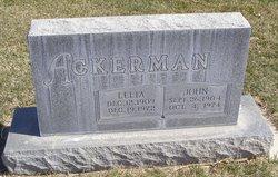 Lelia Edna <i>Halverstadt</i> Ackerman