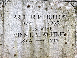 Minnie M <i>Whitney</i> Bigelow