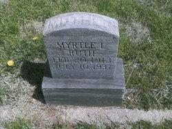 Myrtle Louise <i>Kelley</i> Ruth