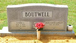 Marguerite Bell <i>Langley</i> Boutwell