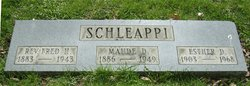 Fred H Schleappi