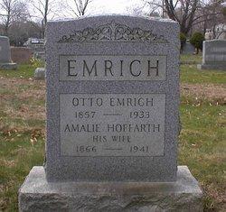 Amalie Amelia <i>Hoffarth</i> Emrich