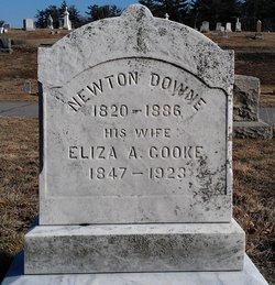 Mrs Eliza A <i>Cooke</i> Downe