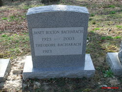Janet <i>Bolton</i> Bacharach