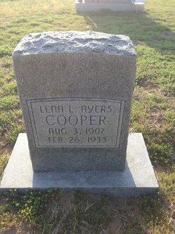 Helena Lucille Lena <i>Ayers</i> Cooper