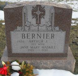Jane Mary <i>Maskill</i> Bernier