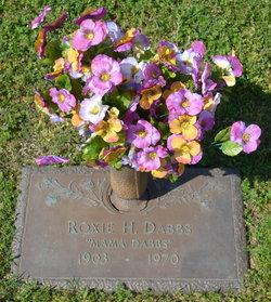Roxie Anna <i>Hill</i> Dabbs