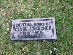 Bertha M Blecher