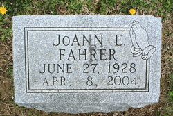 JoAnn E <i>Fitzgerald</i> Fahrer