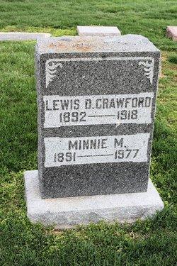 Minnie M <i>Elliott</i> Crawford Behrends