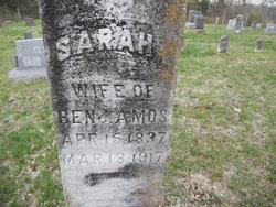 Sarah Isabell <i>Roark</i> Amos