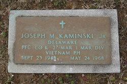 PFC Joseph M Kaminski, Jr