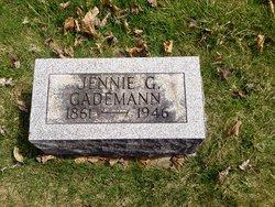 Jennie G <i>Pitner</i> Gademann