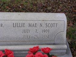 Lillie Mae <i>Nunn</i> Scott
