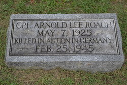 Corp Arnold Lee Roach