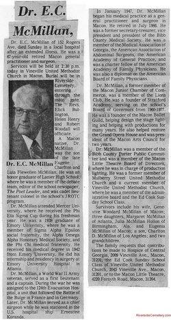 Eugene Charlton McMillan