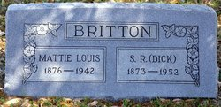 Mattie Louis <i>Dudley</i> Britton