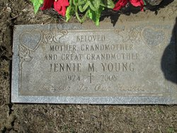 Jennie Mary <i>Staback</i> Young