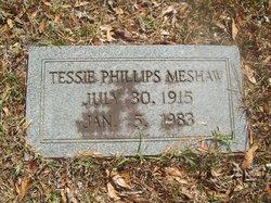 Tessie <i>Phillips</i> Meshaw