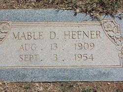 Mable D Hefner