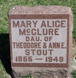 Mary Alice <i>Stout</i> McClure