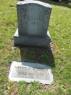 Nettie Belle <i>Cary</i> Williams