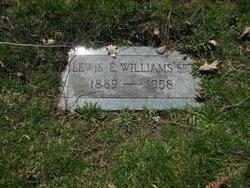 Lewis E. Williams, Sr
