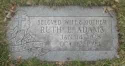 Mrs Ruth Elizabeth Adams