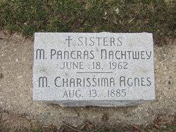 Sr M. Charissima Rose Agnes