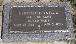 Clifford C Taylor
