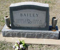 Claude A Bailey