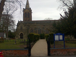 Ruddington St Peter Churchyard