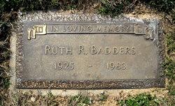 Ruth Romaine <i>Ream</i> Badders