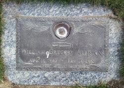William Gregory Albiston