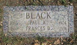 Frances W. <i>Dodson</i> Black
