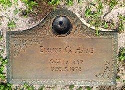 Eloise Gertrude <i>Smith</i> Haas