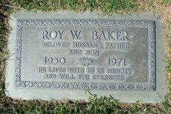 Roy Wayne Baker
