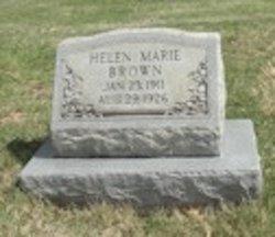 Helen Marie Brown